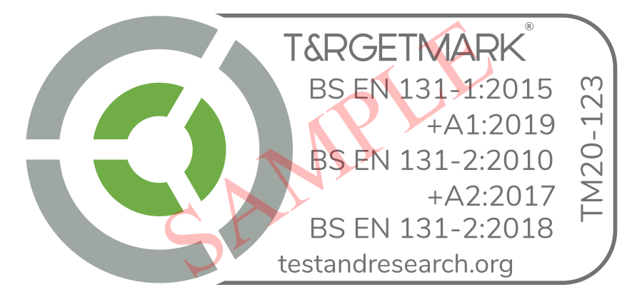TARGETMARK - CERT MARK SAMPLE EN 131 - V1.0