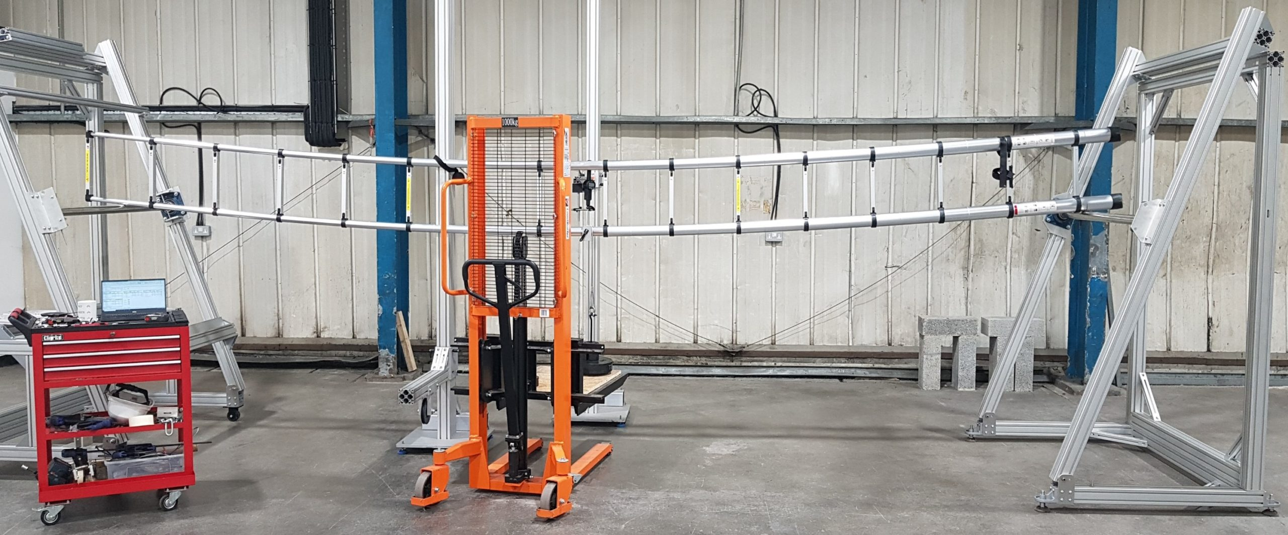 6.2m telescopic lateral test