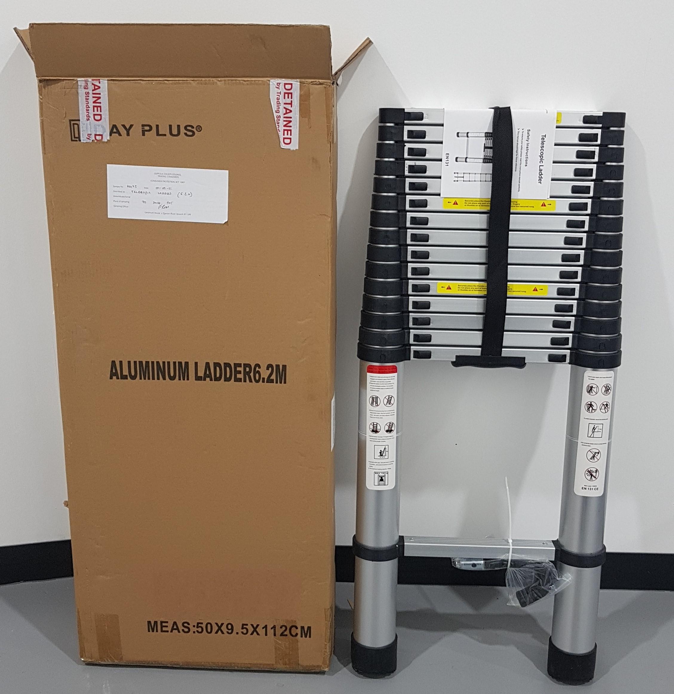 6.2m telescopic ladder